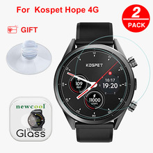 NEWCOOL 9H 2.5D Glass film For KOSPET Hope/Brave/Optimus/Optimus Pro smart Watch Tempered Glass Screen Protector Guard Film