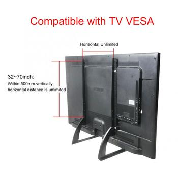 Soporte metálico de acero de 14 ~ 42 pulgadas, 32-70 pulgadas para TV, pantalla LCD LED plana, soporte de montaje de sobremesa