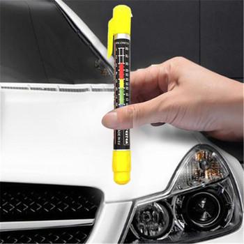 Auto farby samochody farby Tester grubości lakier samochodowy miernik testowy wskaźnik Crash sprawdź Test Tester farby ze skalą magnetyczną tanie i dobre opinie CN (pochodzenie) Paint thickness tester