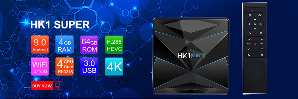 HK1 Super RK3318 Quad Core tv box NEW