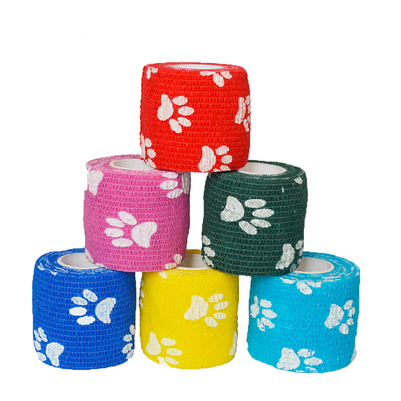 5CM X 4.5M Tape Waterproof Self Adhesive Elastic Bandage  Therapy Bandage Care Tattoo Accessories