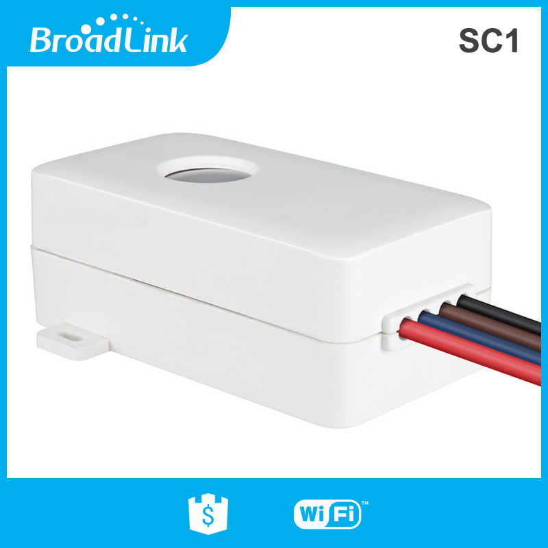 Broadlink SC1 Smart Modul WIFI Switch 2.4G Hz Aplikasi Kotak Kontrol Waktu Telepon Nirkabel Remote Control 2500W Home Automation