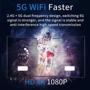Image 3 - 4K H.265 2.4/5G kablosuz WiFi ekran Dongle alıcı HDMI TV çubuk mini PC AnyCast için Airplay DLNA Miracast kablolu monitör aynı ekran