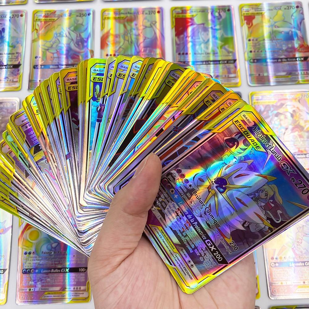 French Pokemon Card GX Tag Team Card