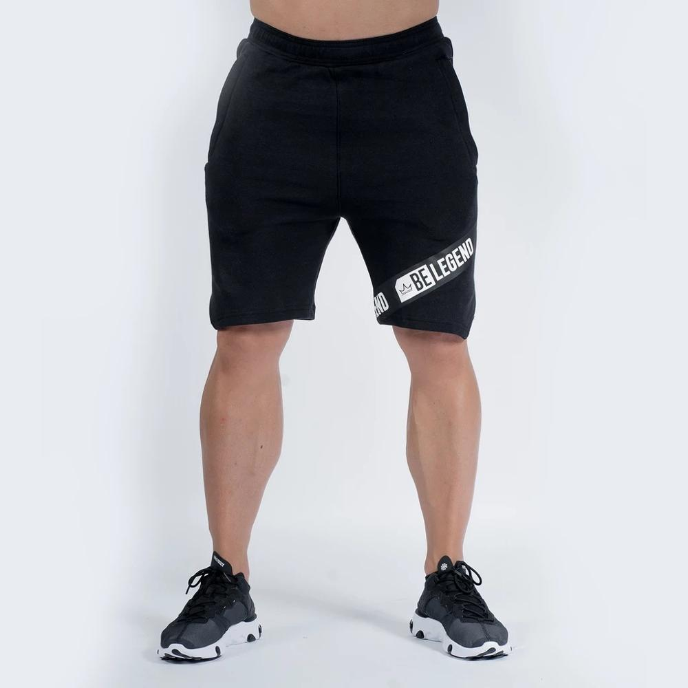 2019 High Quality Cotton Men Fitness Casual Brand Shorts Summer Men New Fashion The Pocket Zipper Garnish Jogger Short Pants