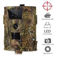 Cámara de caza de sendero, videocámara de vigilancia salvaje de 12MP, 1080P, 30LED, 850nm, IP54, impermeable, ángulo de 120 grados, exploración