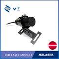 Набор 638nm 50mw 100mw 150mw 200mw линия красный лазерный модуль + кронштейн + источник питания