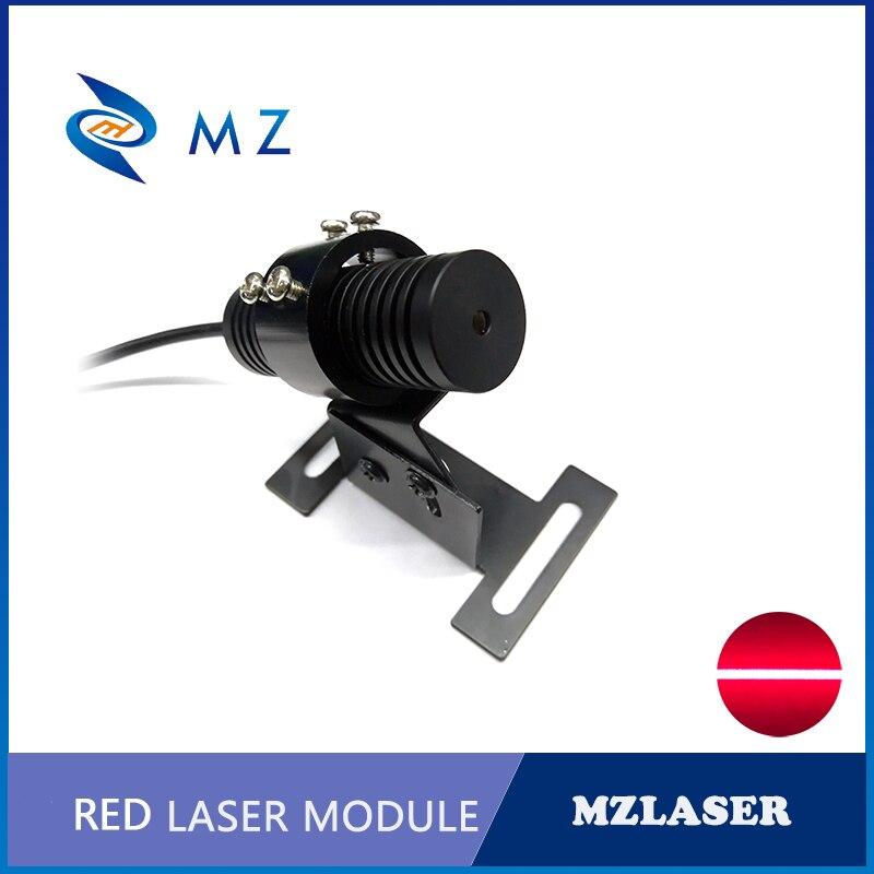A Set Of 638nm 50mw 100mw 150mw 200mw Line Red Laser Module +Bracket + Power Supply