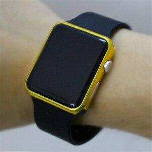 Новинка 2020, цифровые спортивные часы, мужские светодиодные часы, модный силиконовый ремешок, светодиодные цифровые часы, электронные часы, ...