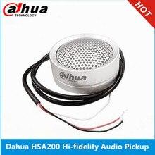 大華オーディオピックアップDH HSA200 ハイ忠実度のオーディオピックアップマイク大化 & hikvisionオーディオと警報カメラ