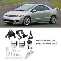 High Quality Aluminum Alloy Engine Swap Mount Kit For Honda Civic SI 70A 2006 2011 Car modification accessories