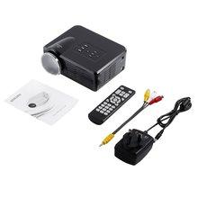 цена на Mini LED Video Projector Portable TV DVD Game Projectors LCD HD Video 3D Home Theater Education HDMI VGA AV USB Beamer BL-35