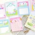 8 Designs 50 Pcs/bag Cartoon Style Sweetness Full Score Series Loose Leaf Memo Pads DIY Hand Account Decor Material