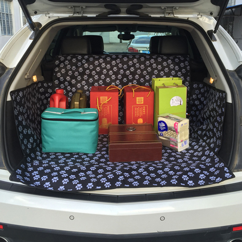 Pet Dog Floor Cover Car Seat Cover Waterproof Boot Liner Trunk Auto Cover Protector Car Boot Liner Blanket Fits Most Cars