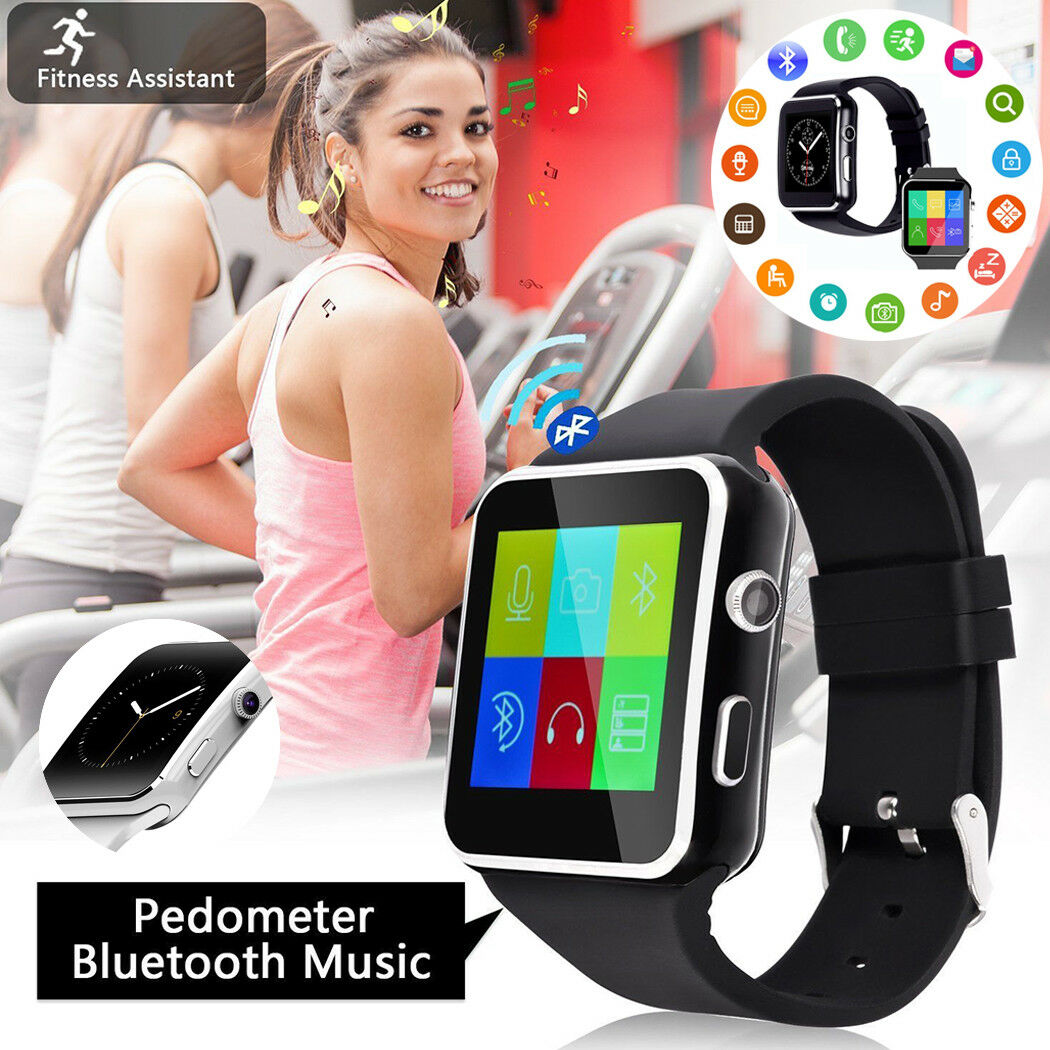 Tf-Card Smartwatch Camera Support Touch-Screen Bluetooth Fitness Men Women SIM with