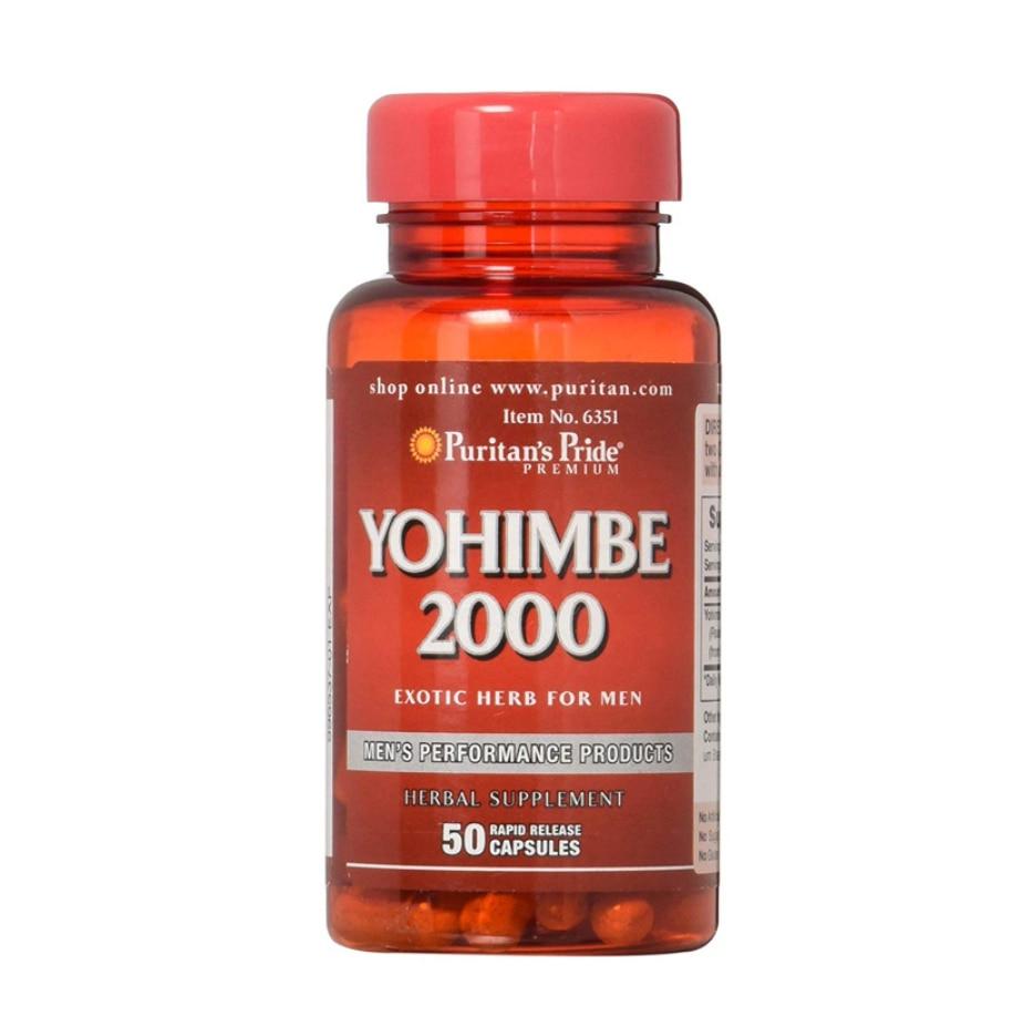 Free Shipping Yohimbe 2000 Mg*50pcs