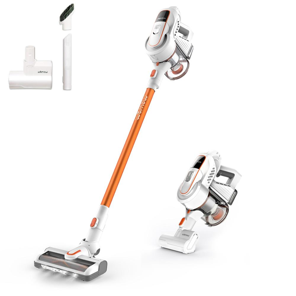 Womow W9 Cordless Vacuum, 300W Digital Motor, 16000pa Powerful Suction, Lightweight 2 In 1 Handheld Vacuum With HEPA Filter