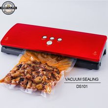 110-220V Vacuum Sealing Machine Home Best Vacuum Sealer Fresh Packaging Machine Food Saver Vacuum Packer Include 10Pcs Bags Free(China)