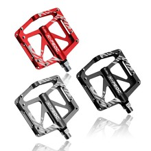 цена на Bicycle Pedal/Alloy Mountain Bike Pedals Road Cycling Sealed 3 Bearing Pedals BMX UltraLight bike Pedal Bicycle Parts Pedal