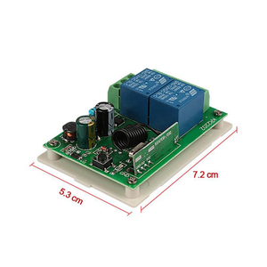 Image 5 - Rubrum 433Mhz AC 250V 110V 220V 2CH RF Relay Receiver Module Universal Wireless Remote Control Switch For 433 Mhz Remote Control