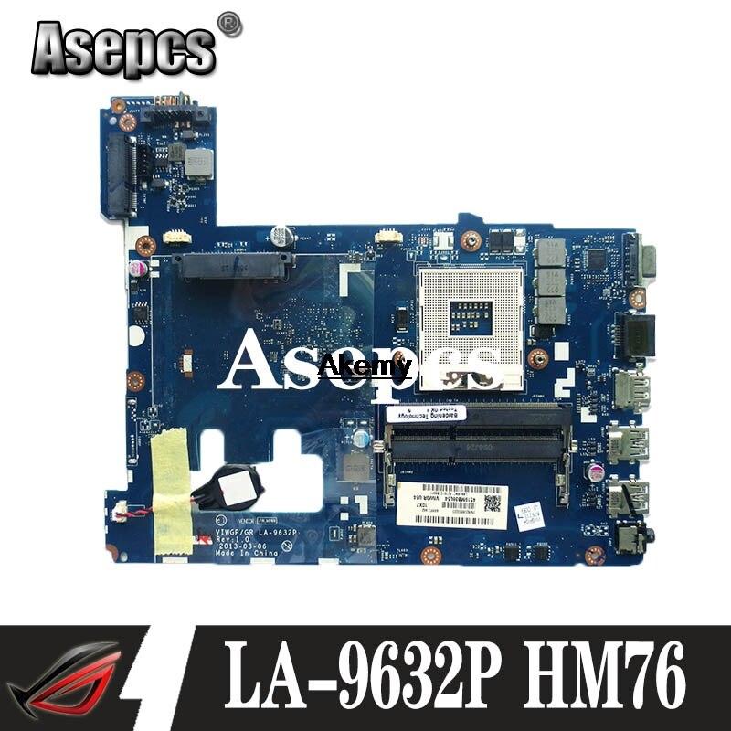 VIWGP/GR LA-9632P Laptop Motherboard For Lenovo G500 Motherboard La-9632p Motherboard HM76 DDR3 Test Motherboard
