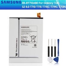 SAMSUNG S2 EB-BT710ABE EB-BT710ABA Tablet Substituição Da Bateria Original Para GALAXY Tab 8.0 SM-T719 T710 SM-T715 SM-T713N 4000mAh