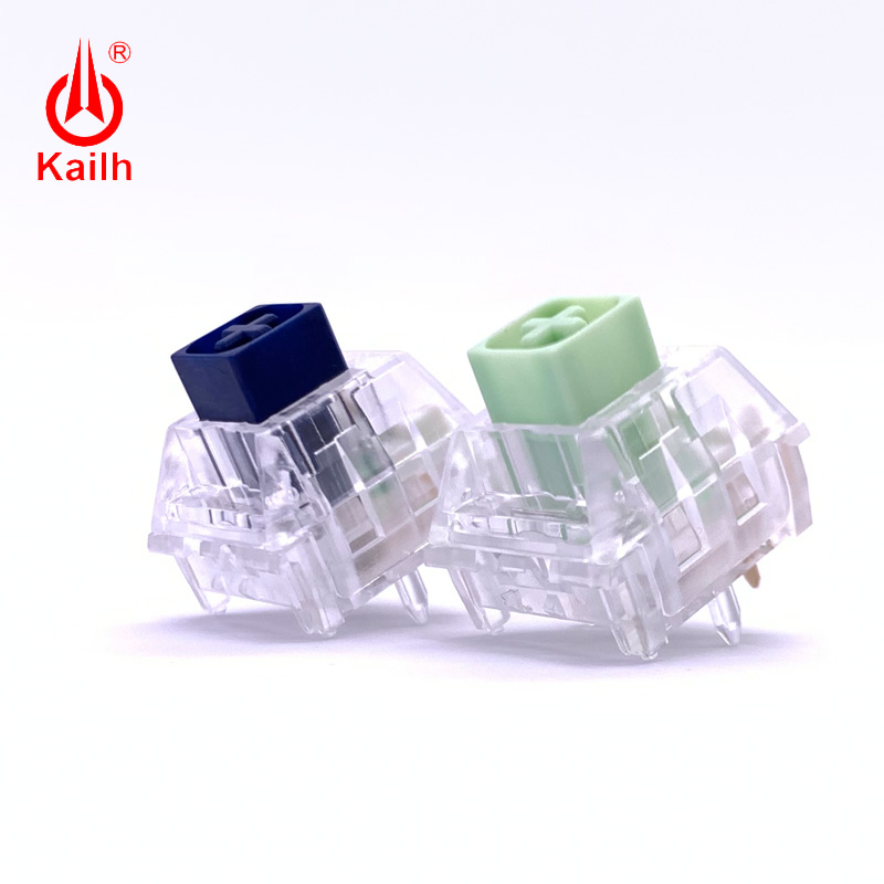 Kaih Heavy Box Transparent Navy Jade Game Machine Keyboard Diy Switch RGB/SMD IP56 Water-proof MX Switches Clicky