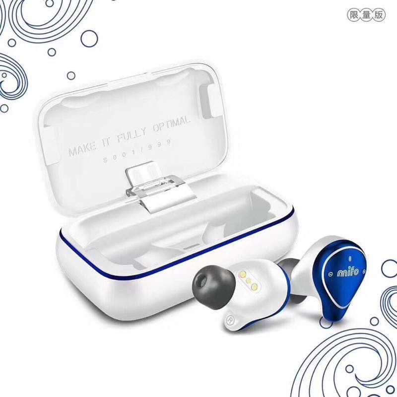 Mifo o5 bluetooth 5.0 tws edição limitada fone de ouvido bluetooth binaural mini fones de ouvido in-ear alta fidelidade ipx7 à prova dwaterproof água