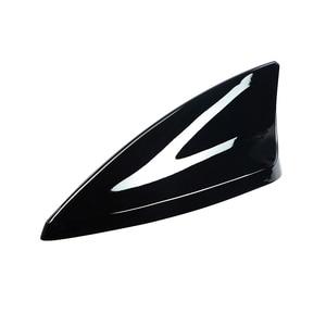 Image 3 - POSSBAY Car Shark Fin Roof Antenna Aerial FM/AM with Radio Auto Signal Decor Universal for Cadillac Mini Cooper BMW VW Toyota