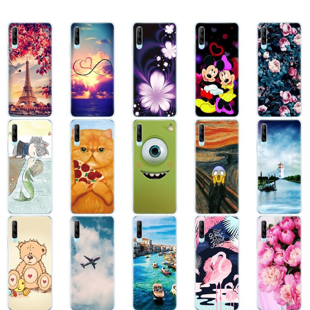 Для huawei y9s чехол для телефона на huawei y9 S задняя крышка бампер etui coque Силиконовый ТПУ мягкий полная защита противоударный