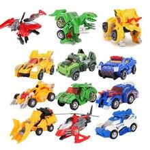 Transformation Robot Dinosaur Toys Anime Action Figures Deformation Classic Car Aircraft Model Gifts For Kid Cartoon Transformer