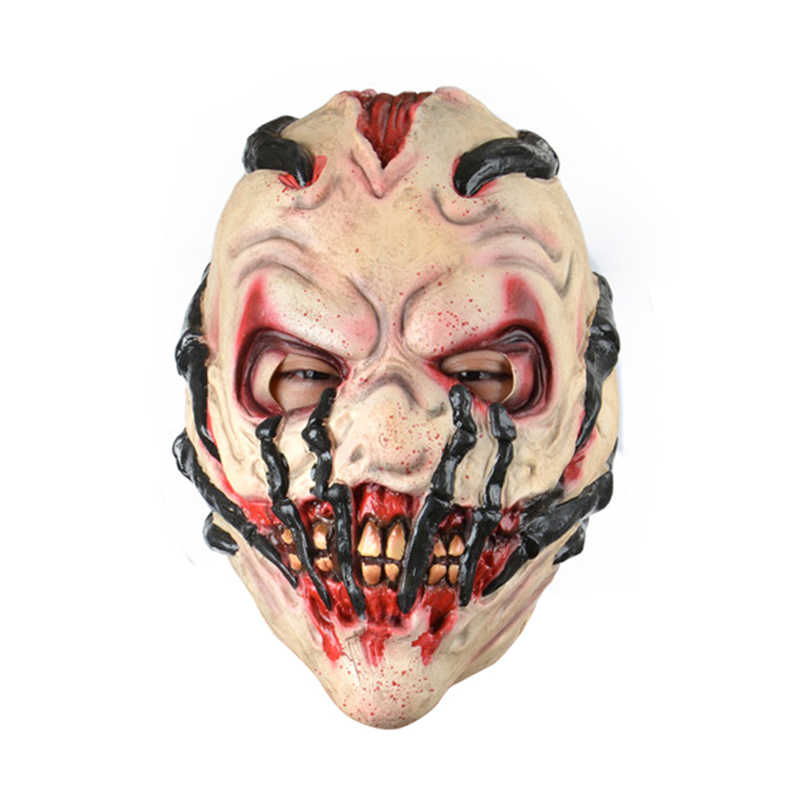 Effrayant griffe Latex Halloween Cosplay masque adulte taille unique horreur carnaval déguisement masques