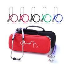 Медицинский портативный стетоскоп EVA сумка для хранения большие сетчатые карманы с аксессуарами и водонепроницаемый противоударный ящик для хранения Жесткий Чехол