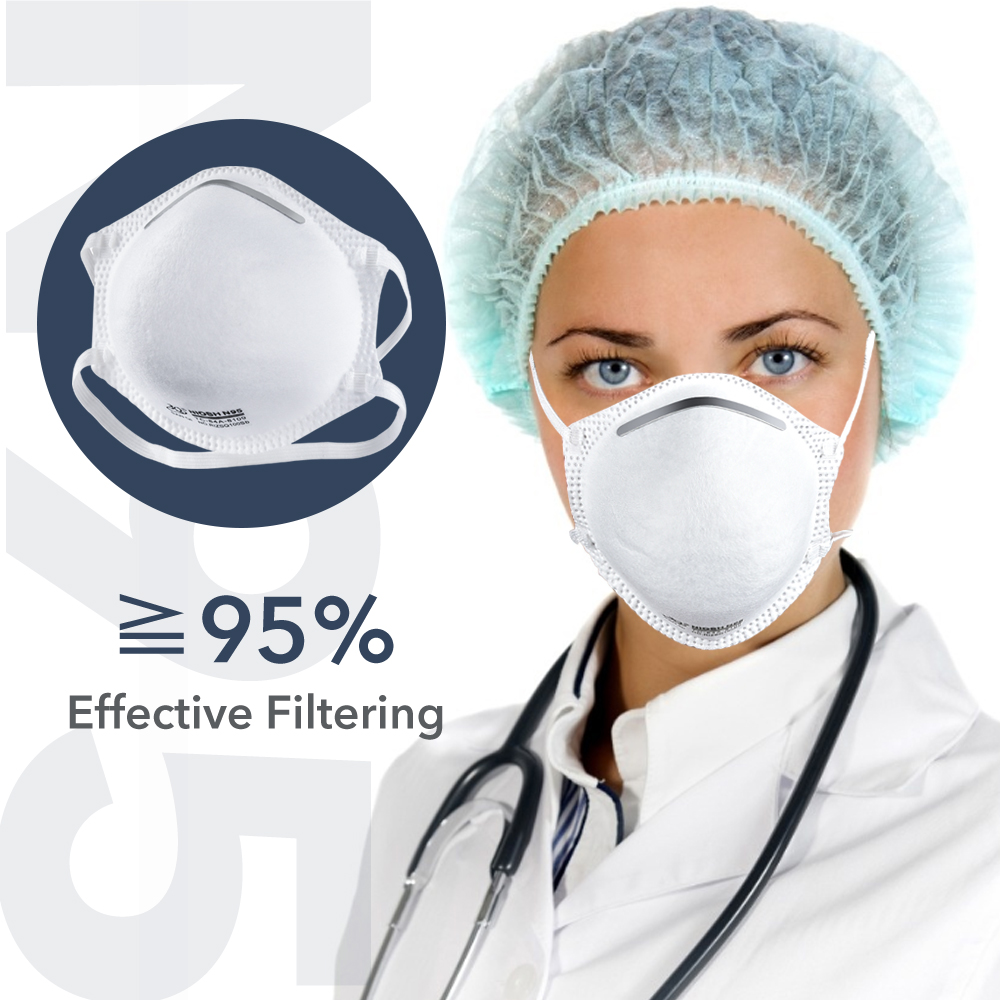 20pcs FDA NIOSH N95 Face Mask (Ship Within 24 Hours) Particulate Respirator Bacteria Proof Medical Mask 4 Layer Filter Masks