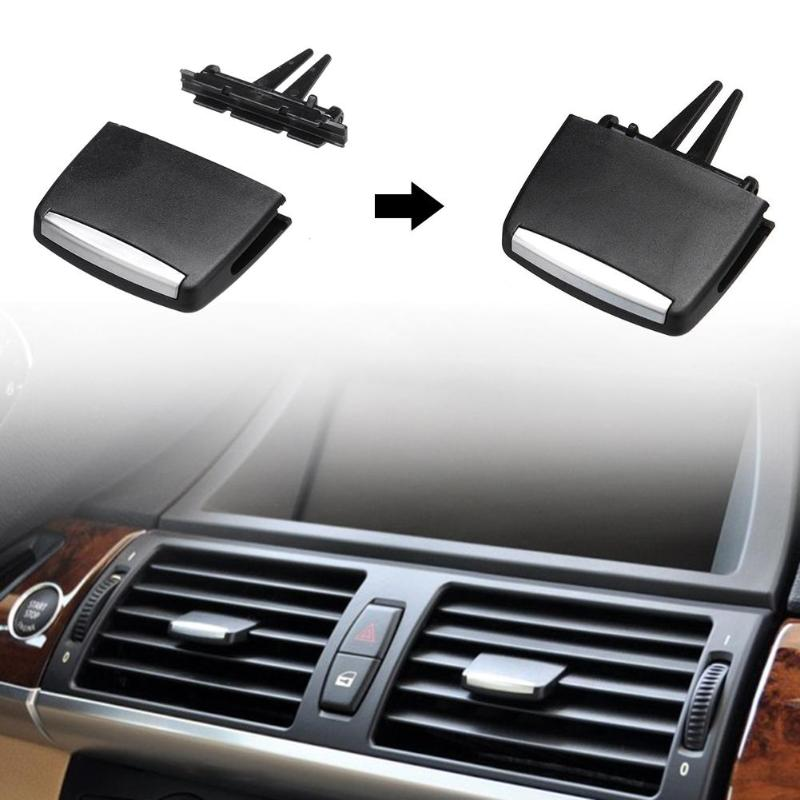 1pcs Car Front/Rear Center A/C Air Conditioning <font><b>Vent</b></font> Outlet Tab Clip Repair Kit For X5 E70 X6 E71 For <font><b>BMW</b></font> 3 Series <font><b>E90</b></font> 2005-2012 image