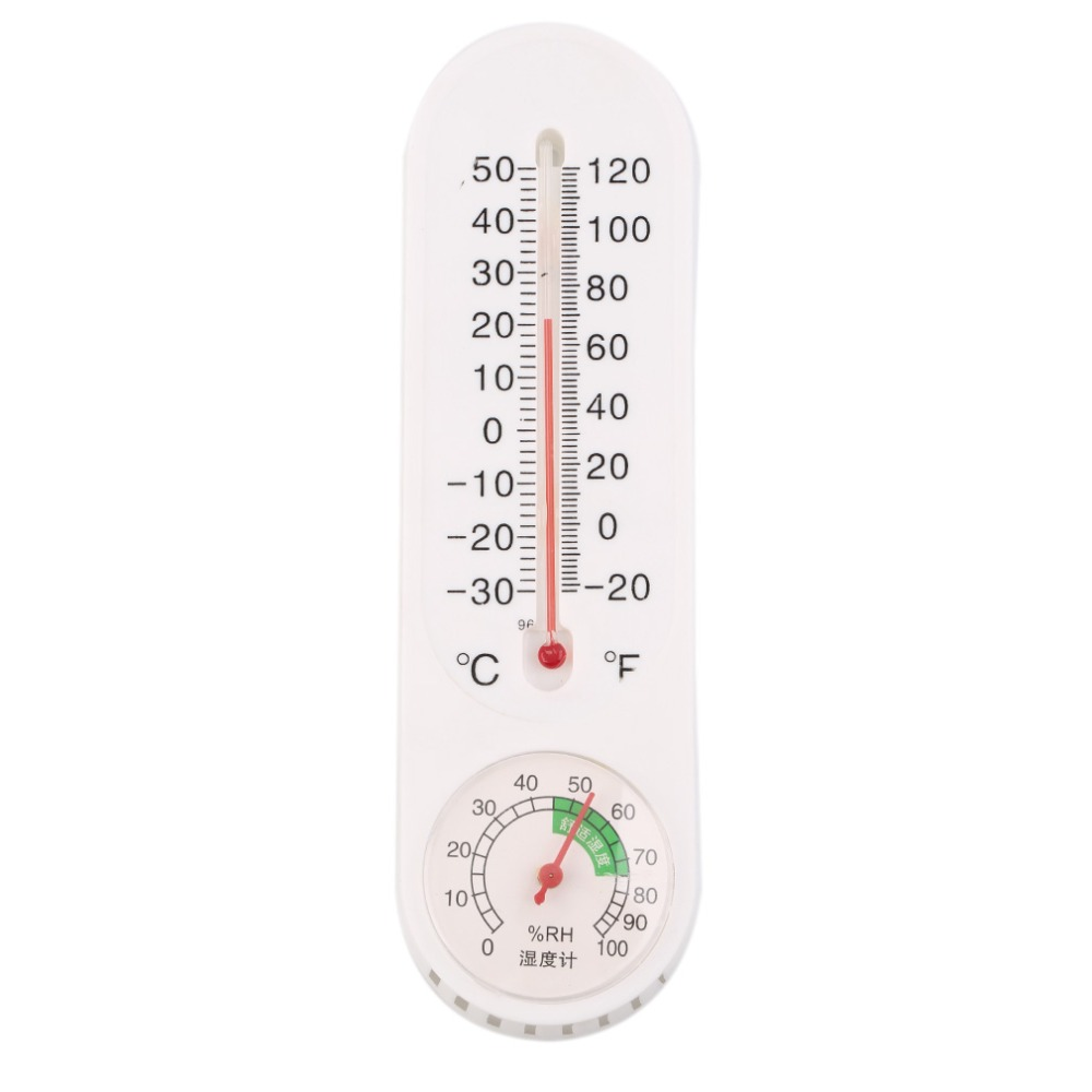 Analog Household Thermometer Hygrometer Wall-mounted Tester Measure thermometer humidity for Home Office Brand New