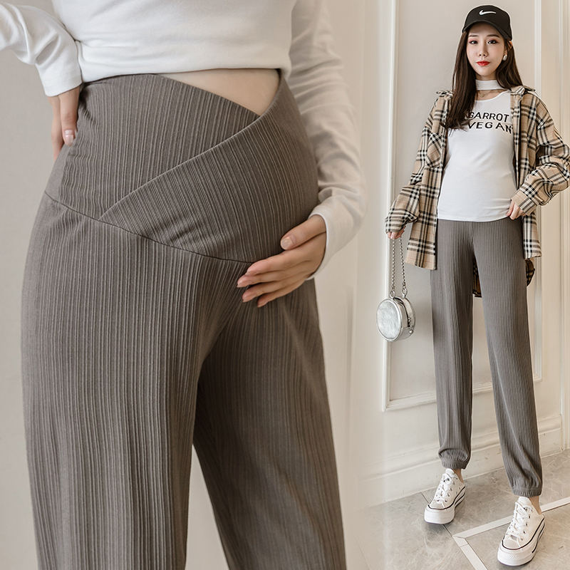 Knicker Adjustable Waist Casual Women pant For Pregnant Women Maternity Pants Clothes Comfy Leisure Pregnancy Soft Slim 2021 New