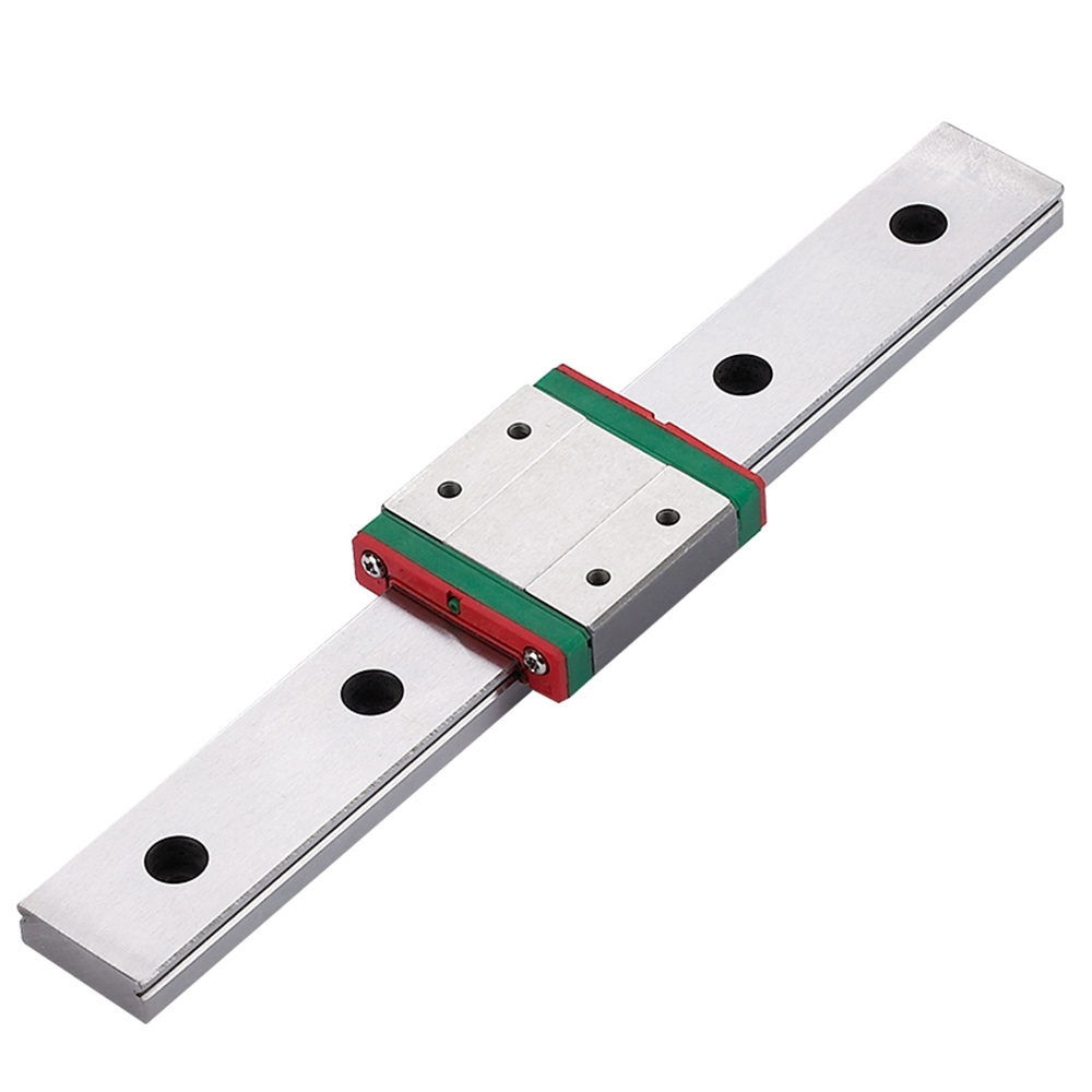 MGW12C MGW12H 3d printer parts 24mm width linear bearings 100mm 300mm 500mm 1000mm precision linear