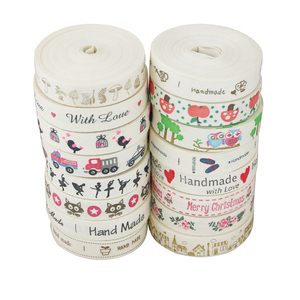 (10 meters/roll) 15mm White Cotton Printed HAND MADE Ribbons Webbings DIY Lace Fabric(China)
