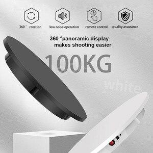 Image 4 - Support daffichage de télécommande 60cm, Base pour prise de vue en Studio Photo, supportant 100kg, Rotation automatique intelligente