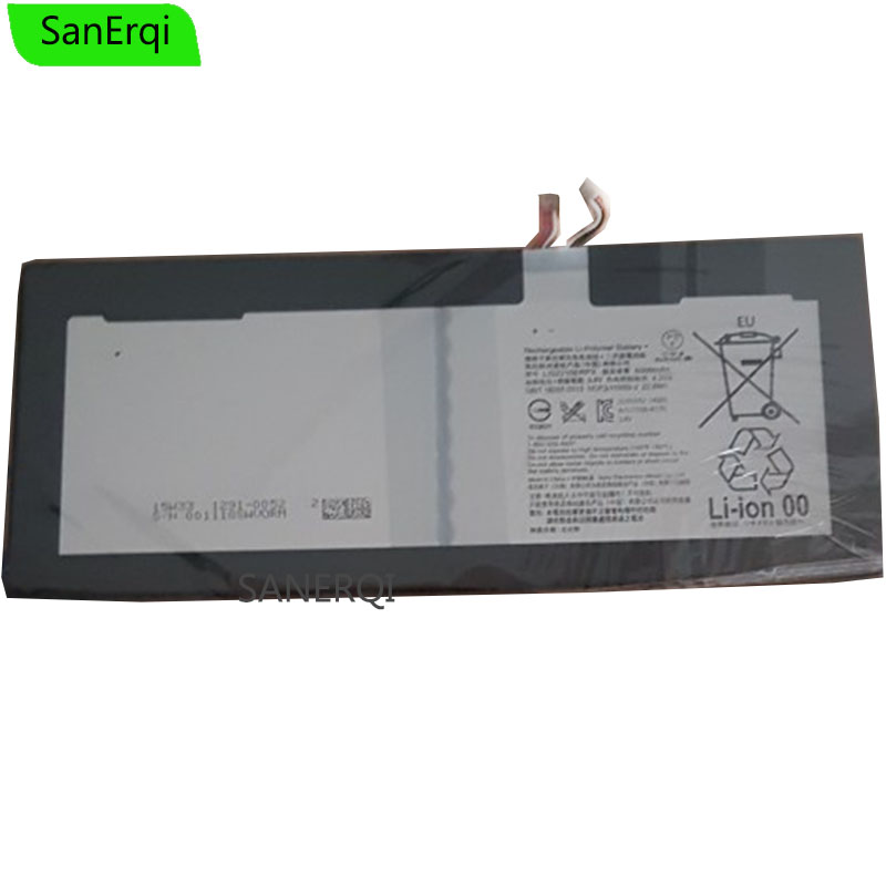 For Sony Tablet Battery LIS2210ERPX LIS2210ERPC For SONY Xperia Z4 Tablet Ultra SGP771 SGP712 Genuine <font><b>6000mAh</b></font> image