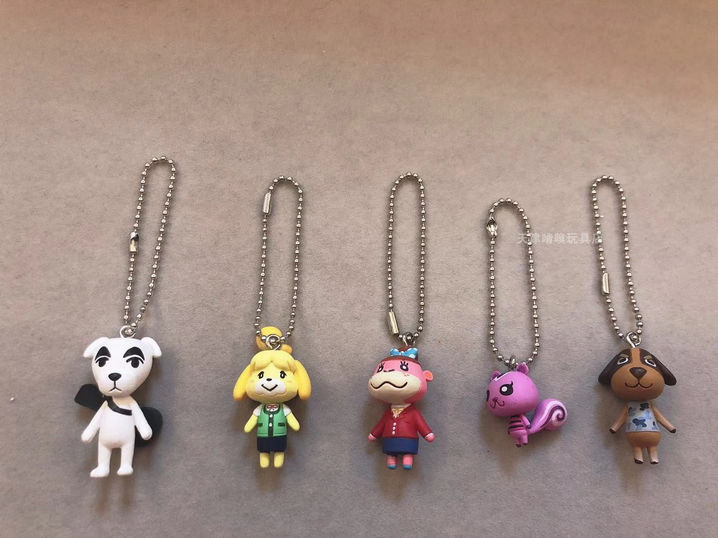 Animal Crossing TARTS Mascot Collection Butch Figure Keychain