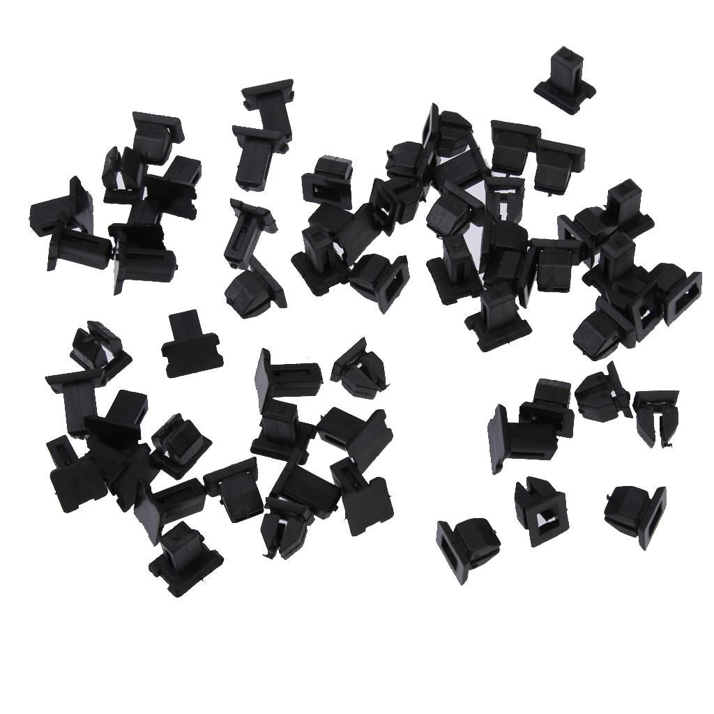 30x Plastic Car Retainers Fasteners Clip For Mercedes 12499007929C75