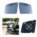 Замена автомобиля с подогревом слепое Предупреждение крыло заднего зеркала стекло для Mercedes-Benz GL ml GLE Класс W164 W166 2010-2018