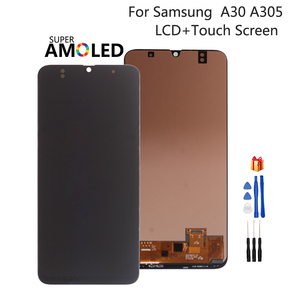 Incell Amoled For Samsung Galaxy A30 A305 A305F LCD Display A305FN/DS Touch Screen DigitizerAssembly For SAMSUNG A30 Screen LCD(China)