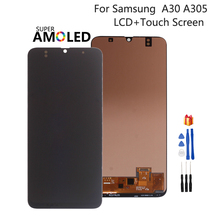 Incell Amoled Voor Samsung Galaxy A30 A305 A305F LCD Display A305FN/DS Touchscreen DigitizerAssembly Voor SAMSUNG A30 Screen LCD