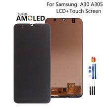 Incell Amoled pour Samsung Galaxy A30 A305 A305F écran LCD A305FN/DS écran tactile numériseur pour SAMSUNG A30 écran LCD