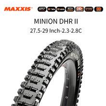 Maxxis minion dhr mtb downhill pneus de bicicleta tr 3c exo 26/27.5/29 Polegada dh am cross country bicicleta sem câmara dobrável pneus