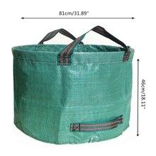 63 Gallon Large Garden Plant Grow Bag Heavy Duty Reusable DIY Planting Waste Bag
