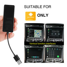 Bbgear USB Smart Link Carplay Dongle untuk Ponsel Android Hanya Mobil Navigasi Dvd Player Mini Usb Mobil Memainkan Stick dengan android Auto(China)